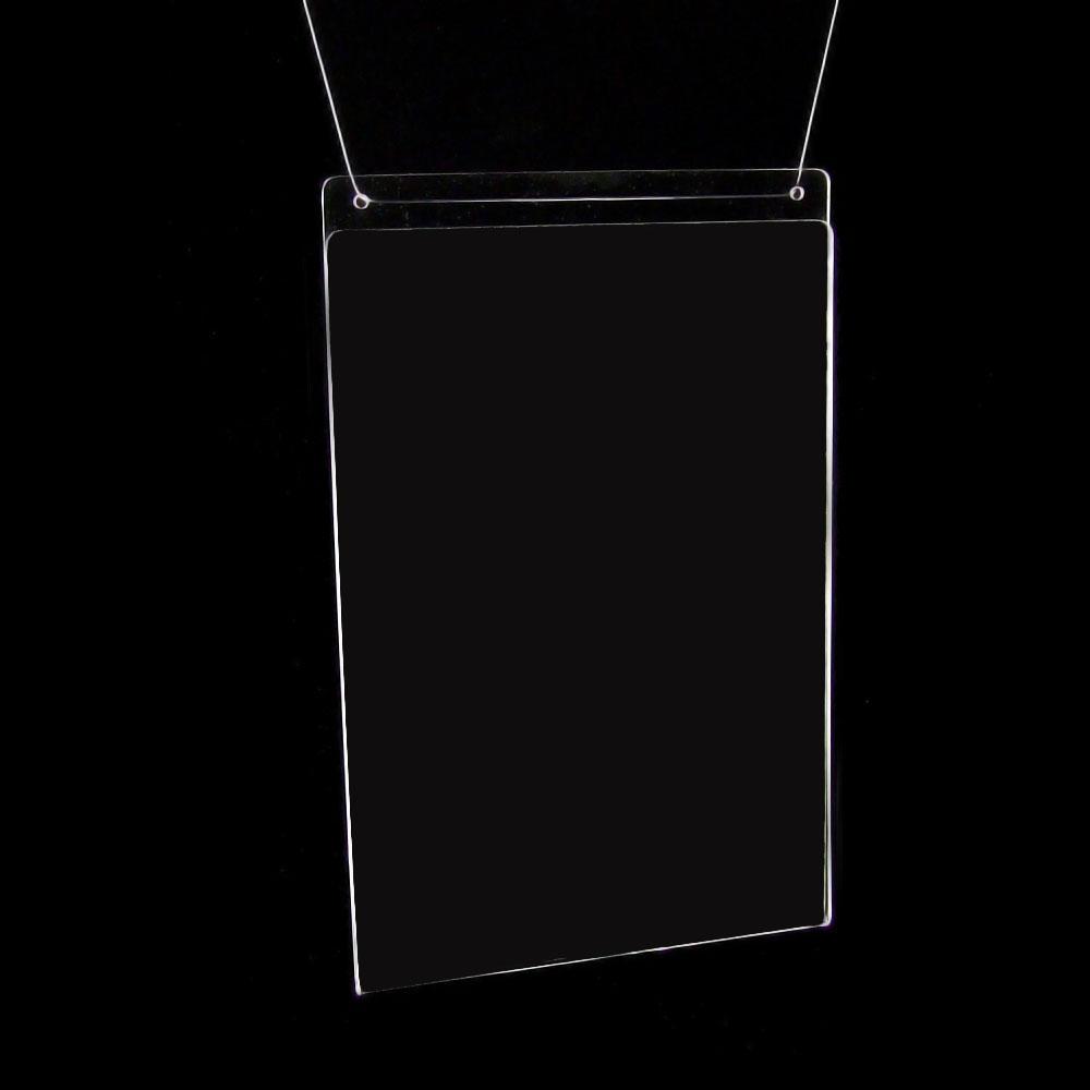12 wand prospekthalter din a4 acryl neu 709 ebay. Black Bedroom Furniture Sets. Home Design Ideas