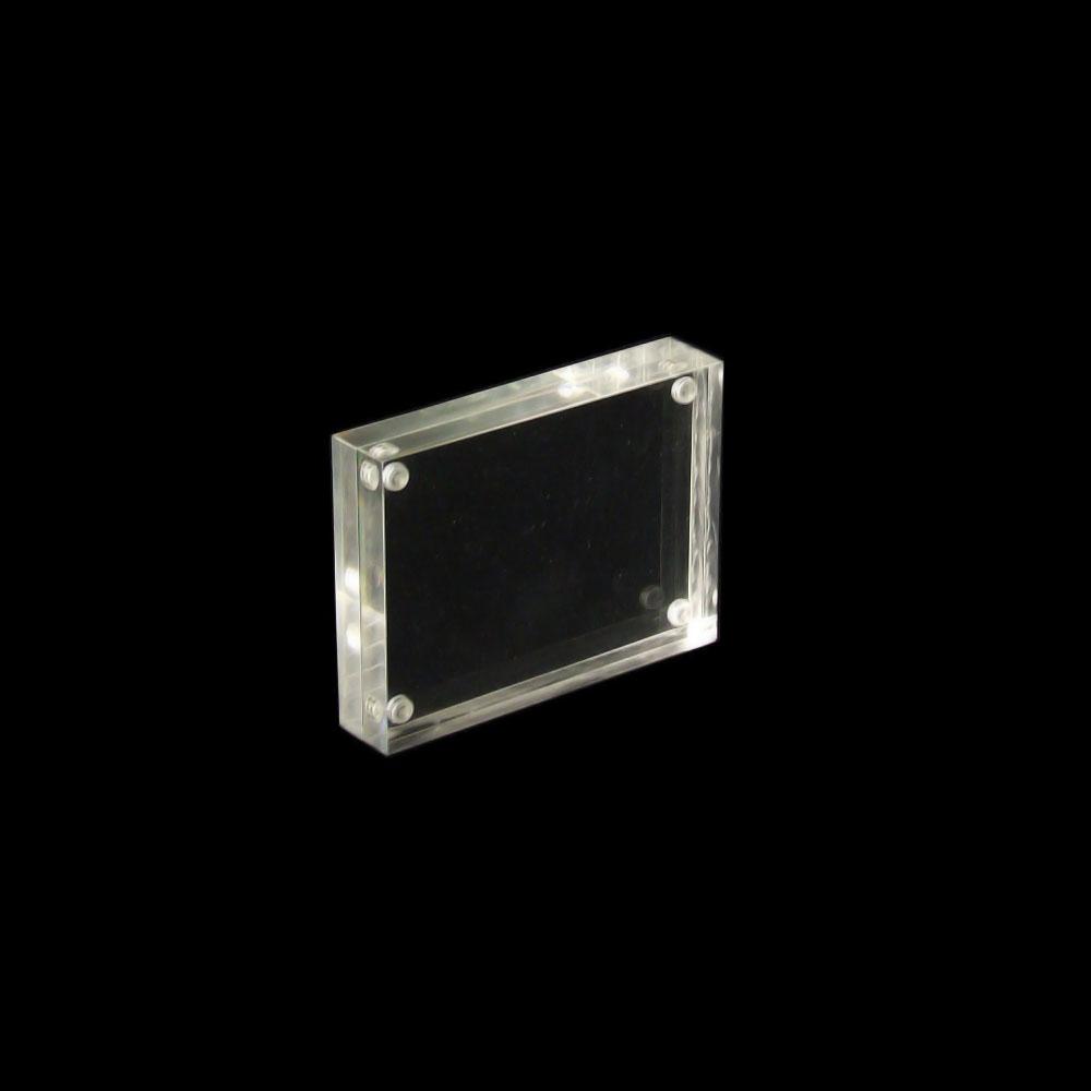 1543 und Querformat Magnet Bilderrahmen für Passfotos oder Visitenkarten Hoch
