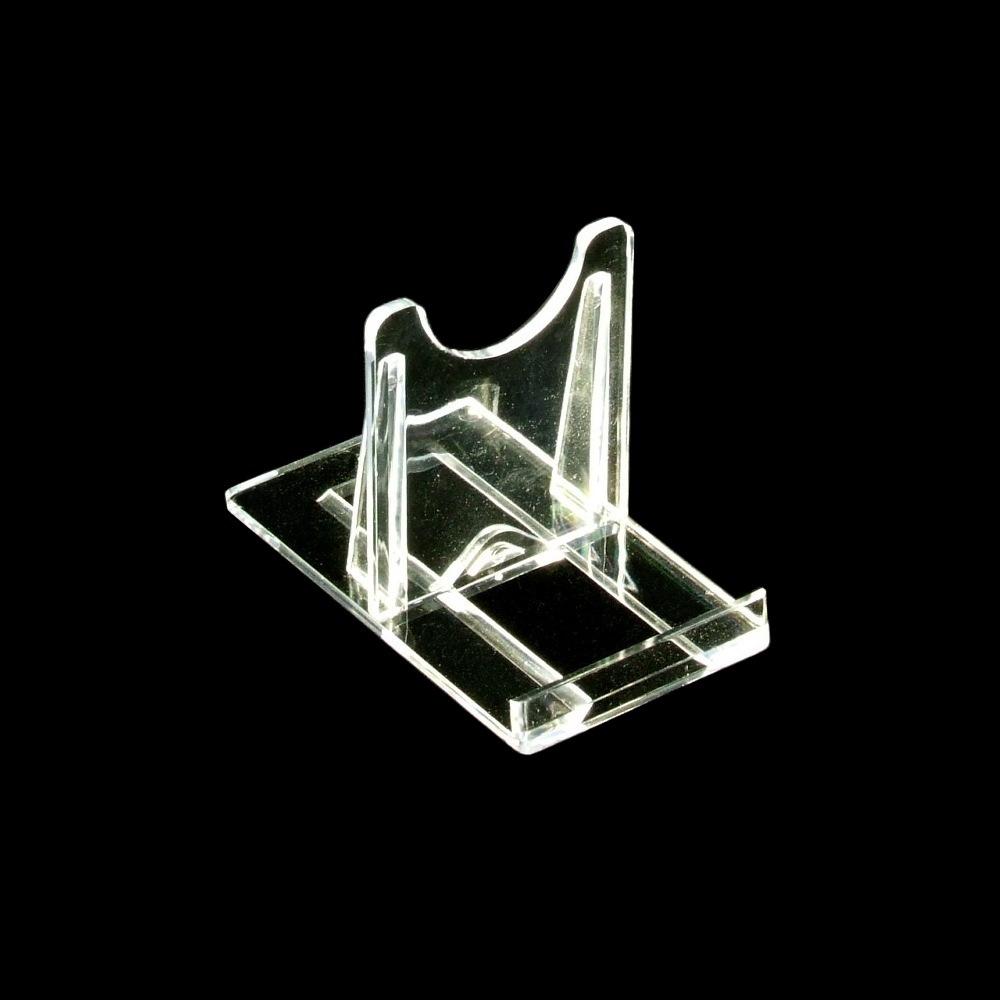 537 6 Teller Ständer Sammelteller Aufsteller Tellerhalter Holz 25 cm hoch NEU